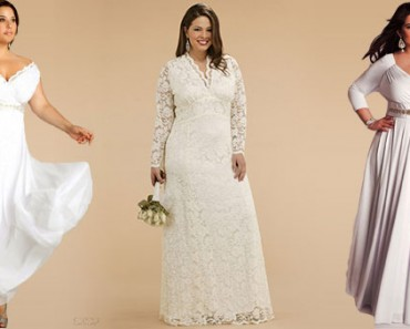 028e161b484 Modeling Plus-Size Wedding Dresses and Choosing One for Yourself