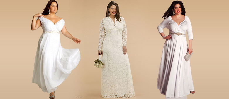Modeling Plus-Size Wedding Dresses and Choosing One for Yourself