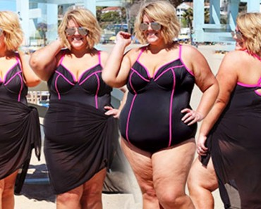 "Plus-Size Blogger Wears Swimsuit at the Beach, Says ""This Was Not Brave"""