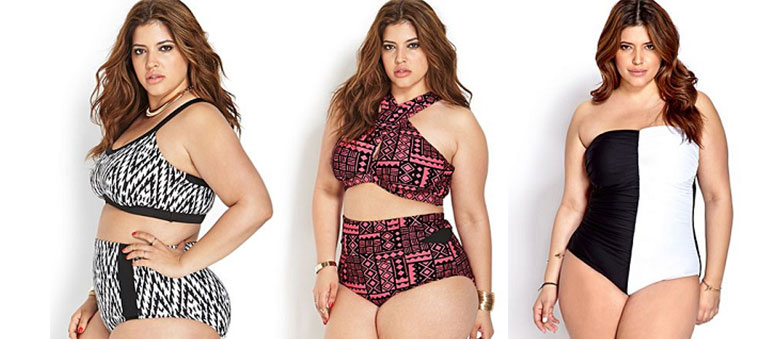 Choosing Plus-Size Swimwear According to Your Body Shape