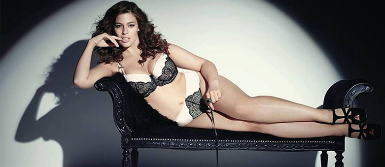Plus-Size Model Ashley Graham Reveals Posing in Lingerie at 14