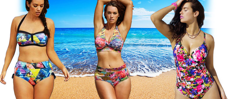 Plus-Size Model Laura Wells Comes Out with Swimwear Line