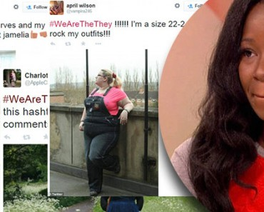 #WeAreTheThey Campaign Created as Reply to Jamelia's Plus-Size Comment