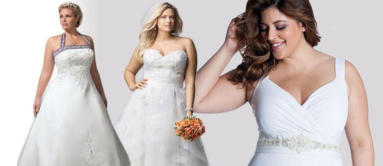 Plus-Size Wedding Dresses for Different Body Shapes