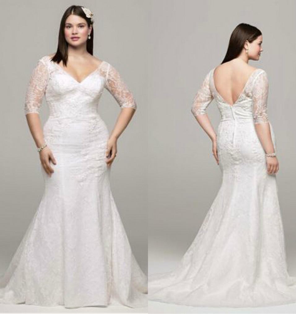Choosing the Right Plus-Size Wedding Dresses According to Body ...