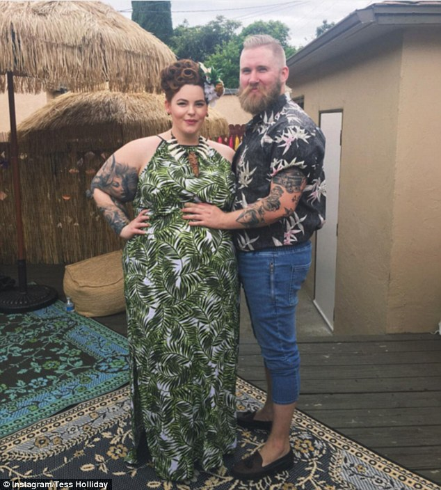 Plus-Size Model and Her Husband