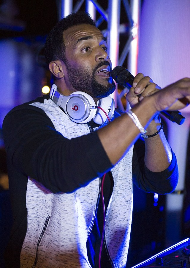 DJ at MailOnline Yacht's Party