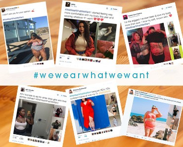 #WeWearWhatWeWant-photos-to-stick-it-to-critics
