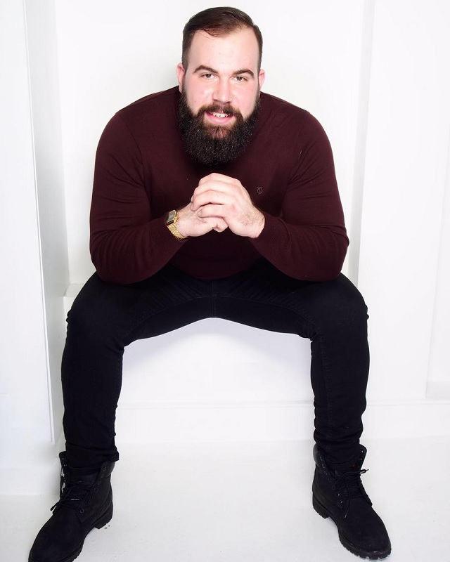 UK's Plus-Size Male Model