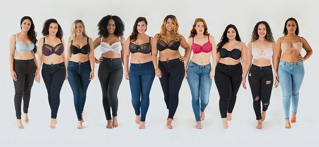 Star in a Bra - Plus-Size Models