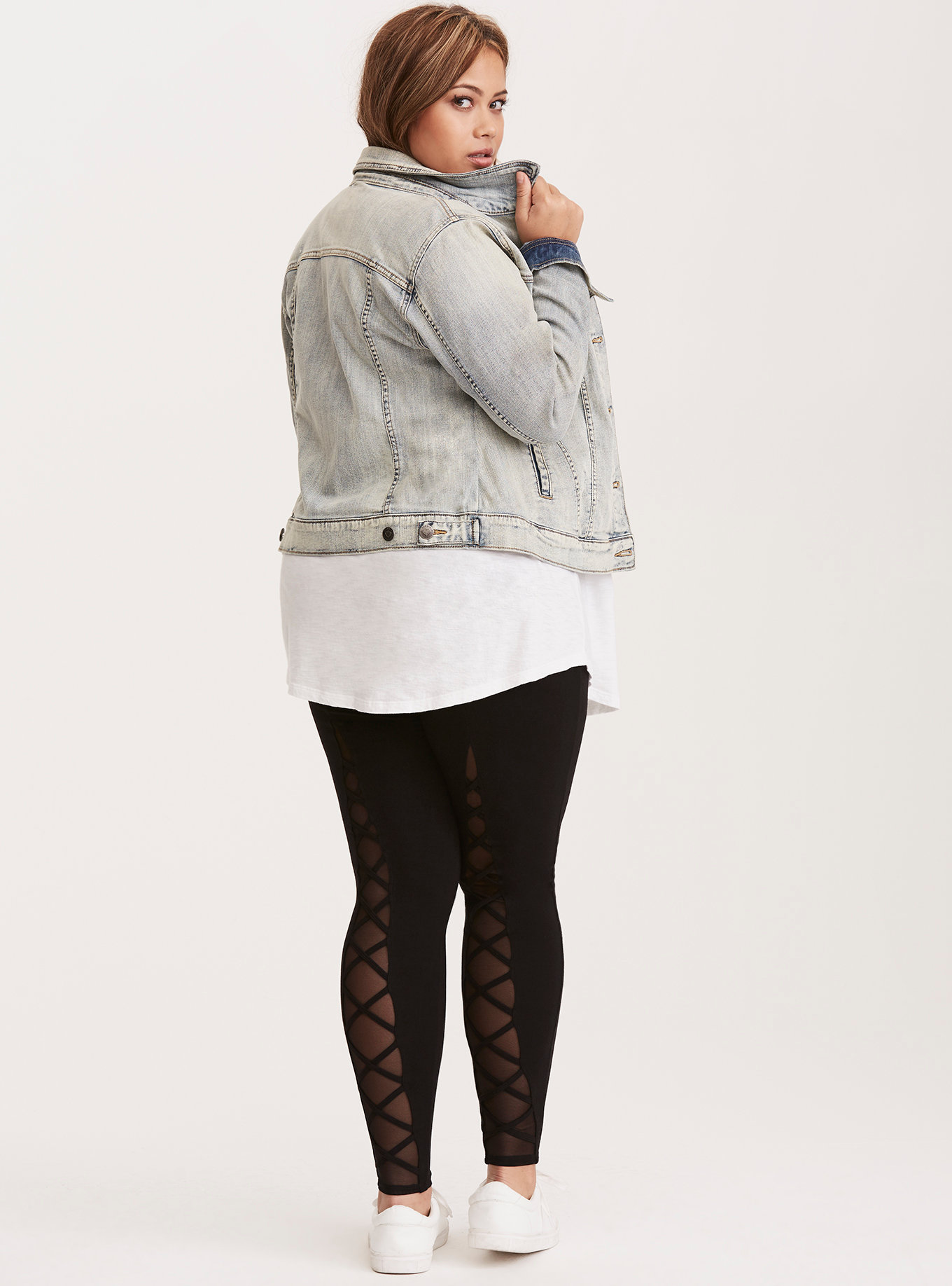 Lattice Back Leggings from Torrid