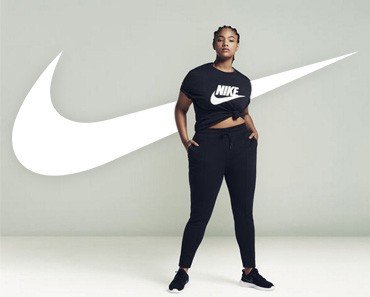 Nike Plus Size Workout Gear Hits Stores Plus Size Modeling