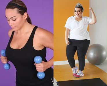 Plus-Size Women at the Gym