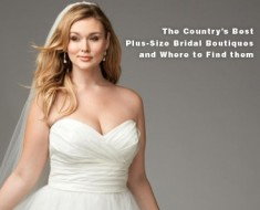 The Country's Best Plus-Size Bridal Boutiques