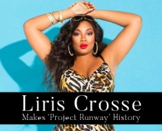 Plus-Size Model Liris Crosse