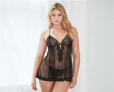 Plus-Size Lingerie Models