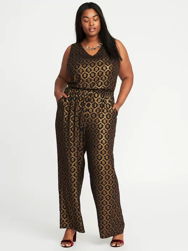 Old Navy Plus-Size Sleeveless Jumpsuit