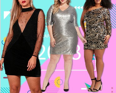 Plus-Size New Year's Eve Outfits