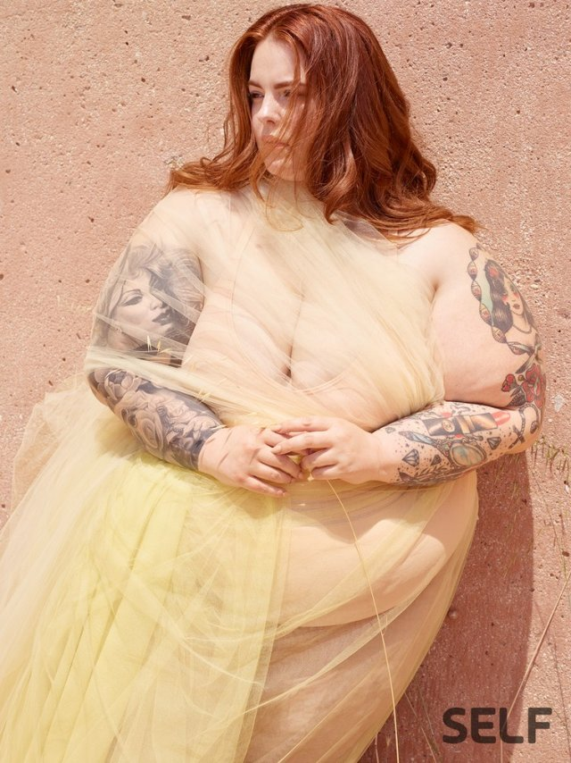 Size 22 Model Tess Holliday