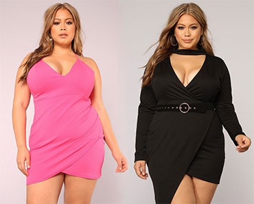 Plus Size Models Fashion Dresses Clothing